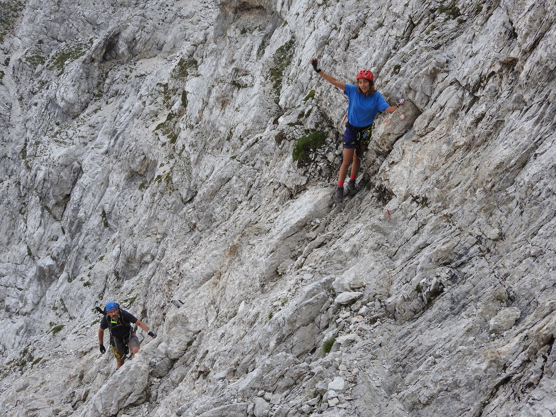 Klettersteigen Oostenrijk : Weekend klettersteigen in slovenië en oostenrijk